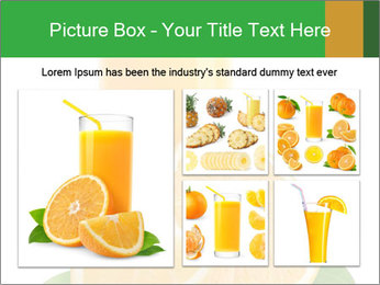 Orange juice PowerPoint Template - Slide 19
