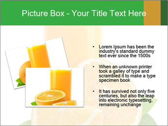 Orange juice PowerPoint Template - Slide 20