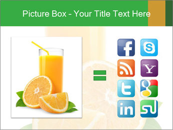 Orange juice PowerPoint Template - Slide 21