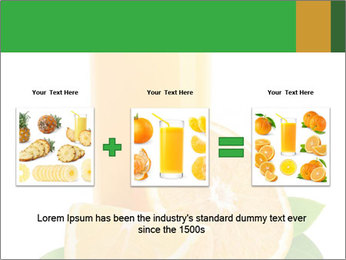 Orange juice PowerPoint Template - Slide 22