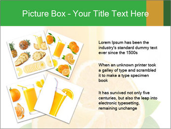 Orange juice PowerPoint Template - Slide 23