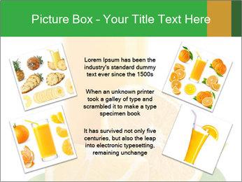 Orange juice PowerPoint Template - Slide 24