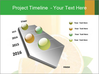 Orange juice PowerPoint Template - Slide 26