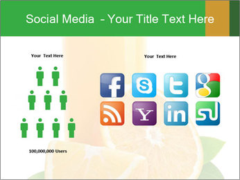 Orange juice PowerPoint Template - Slide 5