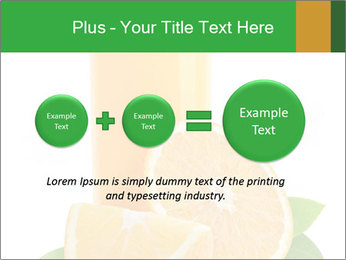 Orange juice PowerPoint Template - Slide 75