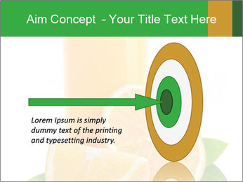 Orange juice PowerPoint Template - Slide 83