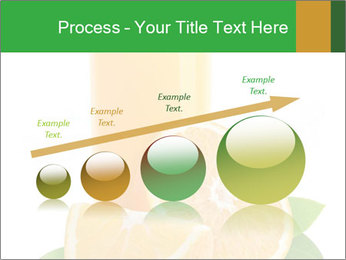 Orange juice PowerPoint Template - Slide 87