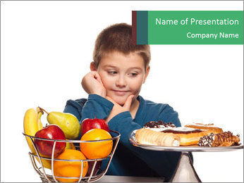 A boy's choice PowerPoint Template