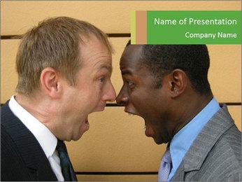 Debate PowerPoint Template - Slide 1