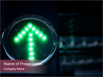 Green light PowerPoint Templates - Slide 1