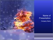 Xmas winter PowerPoint Templates