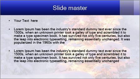 Xmas winter PowerPoint Template - Slide 2