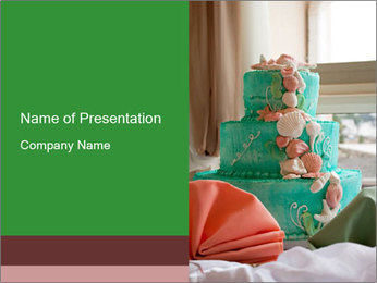 Wedding cake PowerPoint Template