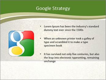 Elegant textured gold ribbon stripe PowerPoint Template - Slide 10