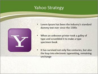 Elegant textured gold ribbon stripe PowerPoint Template - Slide 11