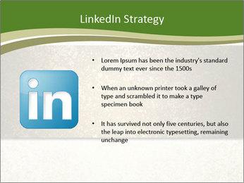 Elegant textured gold ribbon stripe PowerPoint Template - Slide 12