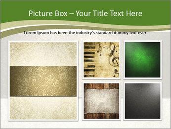 Elegant textured gold ribbon stripe PowerPoint Template - Slide 19