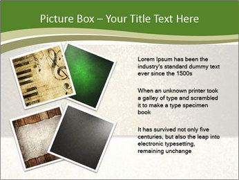 Elegant textured gold ribbon stripe PowerPoint Template - Slide 23