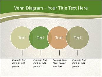 Elegant textured gold ribbon stripe PowerPoint Template - Slide 32