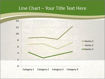 Elegant textured gold ribbon stripe PowerPoint Template - Slide 54