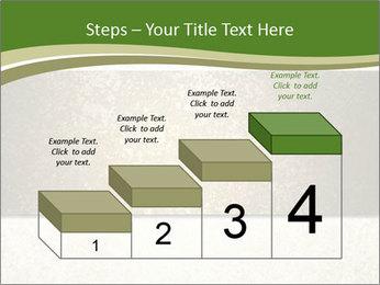 Elegant textured gold ribbon stripe PowerPoint Template - Slide 64