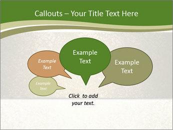 Elegant textured gold ribbon stripe PowerPoint Template - Slide 73