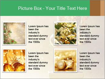Christmas balls PowerPoint Template - Slide 14