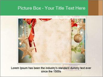 Christmas balls PowerPoint Template - Slide 15