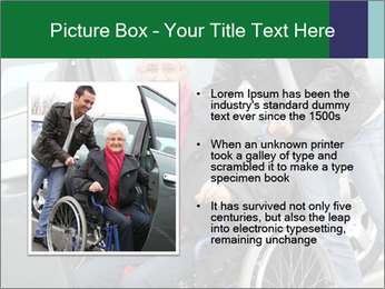 Man assisting senior woman PowerPoint Templates - Slide 13