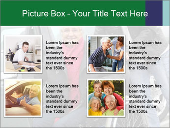 Man assisting senior woman PowerPoint Templates - Slide 14