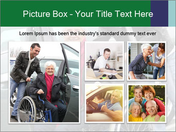 Man assisting senior woman PowerPoint Templates - Slide 19