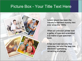 Man assisting senior woman PowerPoint Templates - Slide 23