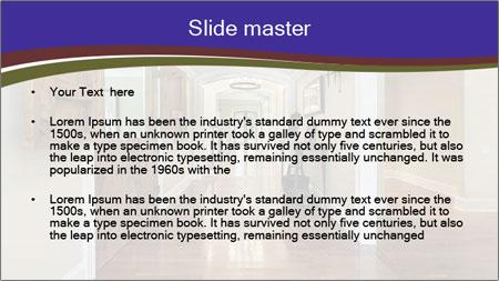 Long foyer PowerPoint Template - Slide 2
