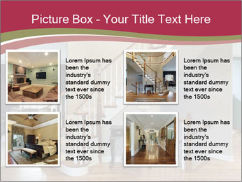 Foyer with wood trim PowerPoint Template - Slide 14