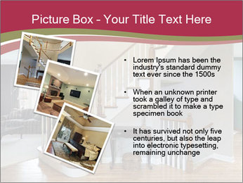 Foyer with wood trim PowerPoint Template - Slide 17