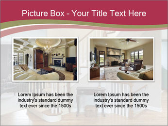 Foyer with wood trim PowerPoint Template - Slide 18
