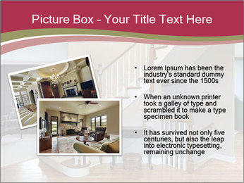 Foyer with wood trim PowerPoint Template - Slide 20