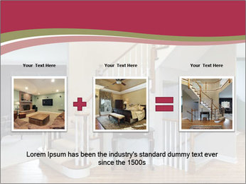 Foyer with wood trim PowerPoint Template - Slide 22