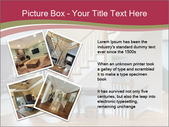 Foyer with wood trim PowerPoint Template - Slide 23
