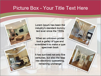 Foyer with wood trim PowerPoint Template - Slide 24