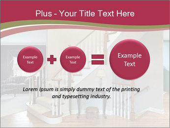 Foyer with wood trim PowerPoint Template - Slide 75