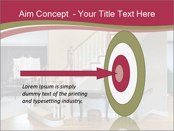 Foyer with wood trim PowerPoint Template - Slide 83
