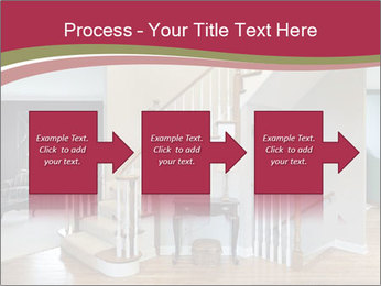Foyer with wood trim PowerPoint Template - Slide 88