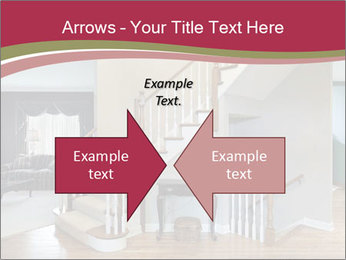 Foyer with wood trim PowerPoint Template - Slide 90