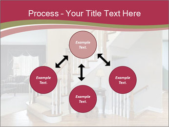 Foyer with wood trim PowerPoint Template - Slide 91