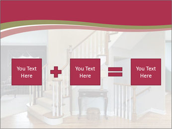 Foyer with wood trim PowerPoint Template - Slide 95