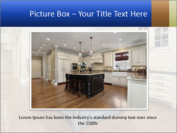 Kitchen in luxury home PowerPoint Templates - Slide 16