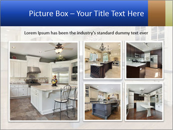 Kitchen in luxury home PowerPoint Templates - Slide 19