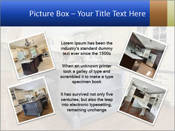 Kitchen in luxury home PowerPoint Templates - Slide 24