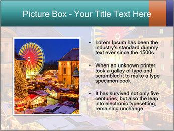 Сhristmas market PowerPoint Templates - Slide 13